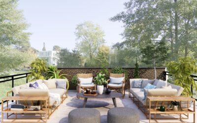 Hygge på terrassen – også i det tidlige forår eller langt ind i sensommeren