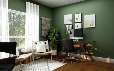 Sådan finder du de rette møbler til hjemmekontoret