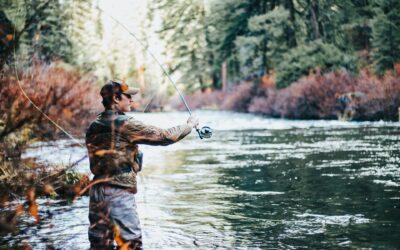 Få luftet tankerne med en fisketur, med det rigtige fiskegrej